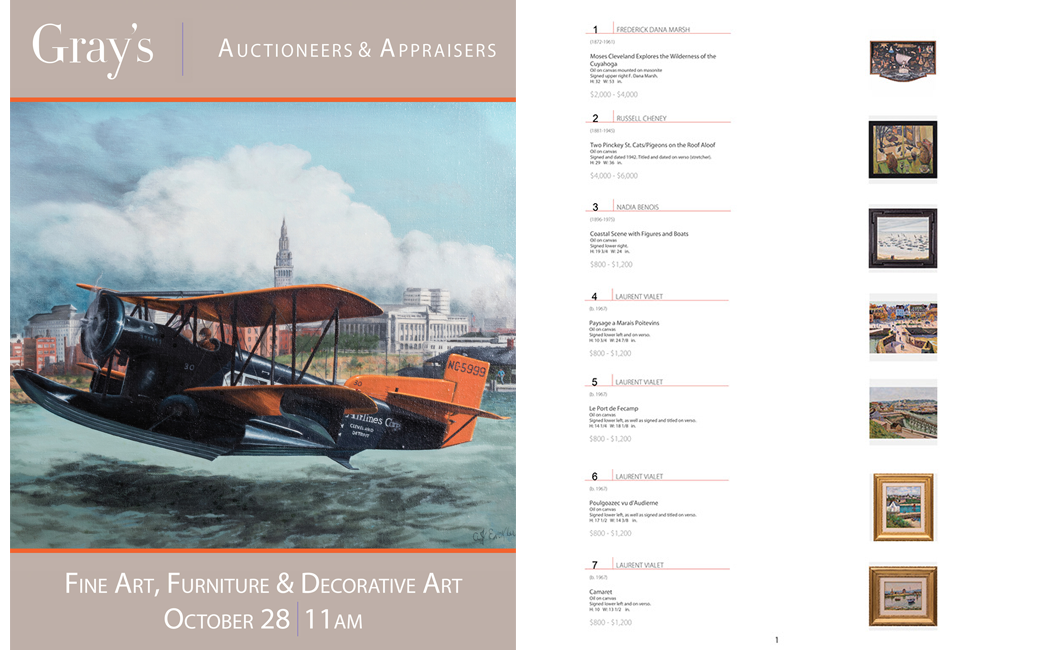 Gray's auction house catalogue